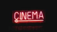 Insegna di una sala cinematografica