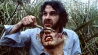 Peter Jackson sul set di Bad Taste