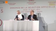 Conferenza di presentazione del Festival di Cannes 2017