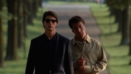 "Tom Cruise e Dustin Hoffman, fratelli in ""Rain Man"""