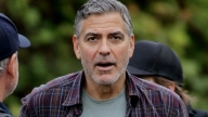 George Clooney sul set di Tomorrowland