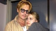 Johnny Depp e Lily-Rose
