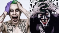 A sinistra, il probabile Joker di Jared Leto
