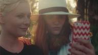 Kirsten Dunst - Selfie on social media