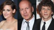 Kristen Stewart, Bruce Willis e Jesse Eisenberg