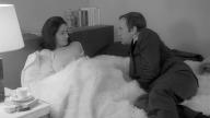 "I magnifici Françoise Fabian e Jean-Louis Trintignant in ""Ma nuit chez Maud"" di Rohmer"