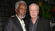 Morgan Freeman e Michael Caine