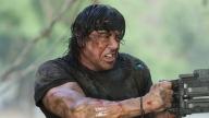 Sylvester Stallone nel ruolo di John Rambo