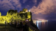 La terrazza degli ulivi che ospita Ischia Film Festival