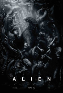 Locandina originale Alien: Covenant (proiezione in sale IMAX)