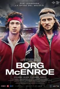 La locandina di Borg McEnroe