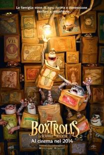 Boxtrolls - Le scatole magiche locandina