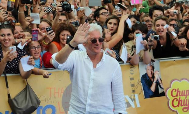 Richard Gere al Giffoni Film Festival