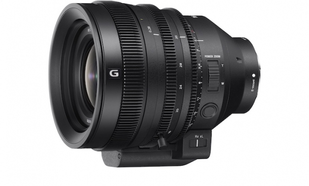 Sony E-Mount full-frame da 16-35mm (FE C 16-35mm T3.1 G