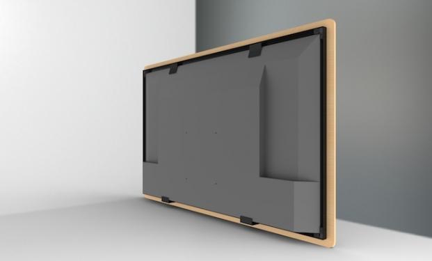 FC-12XX/WO con finitura in legno