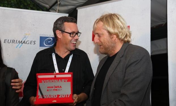 Jeff Norton (a sinistra) e Francesco Grisi