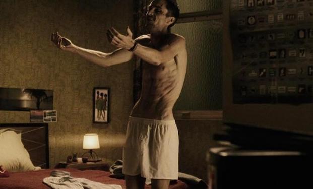 Christian Bale in L'uomo senza sonno