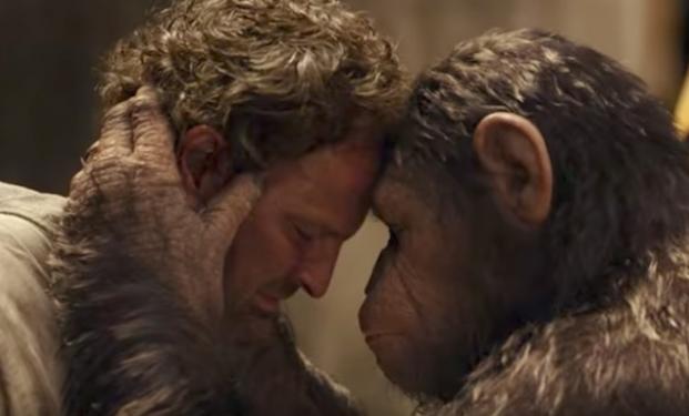 The War - Il Pianeta delle Scimmie: Charlton Heston ritorna nel nuovo trailer