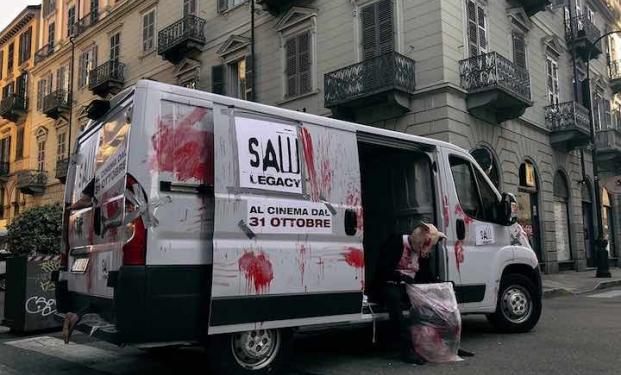 La campagna shock di Saw: Legacy