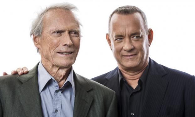 Clint Eastwood con Tom Hanks