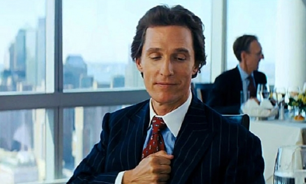 Matthew McConaughey in Wolf of Wall Street