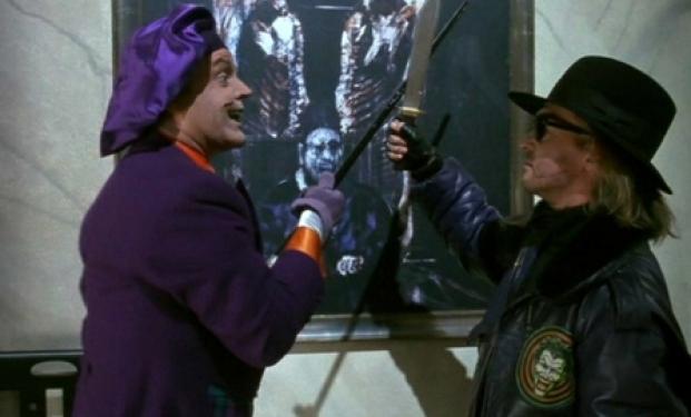Una scena di Batman di Tim Burton