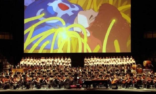 Il con musiche dai film prodotti dallo studio Ghibli