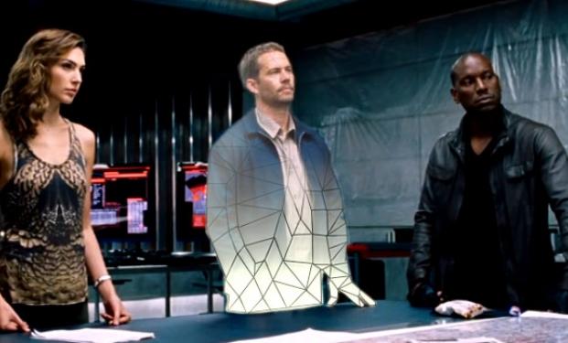 Paul Walker in computer grafica in Furious 7