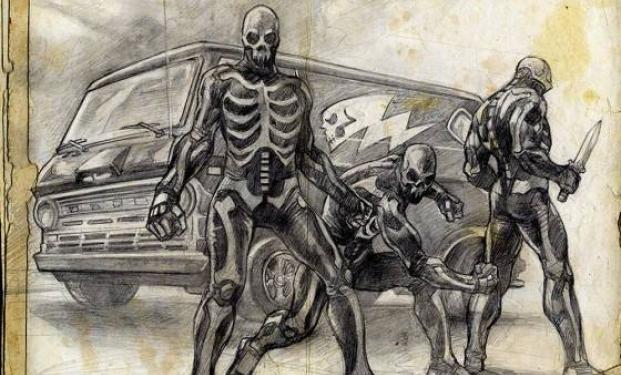 Concept-art di 31 di Rob Zombie