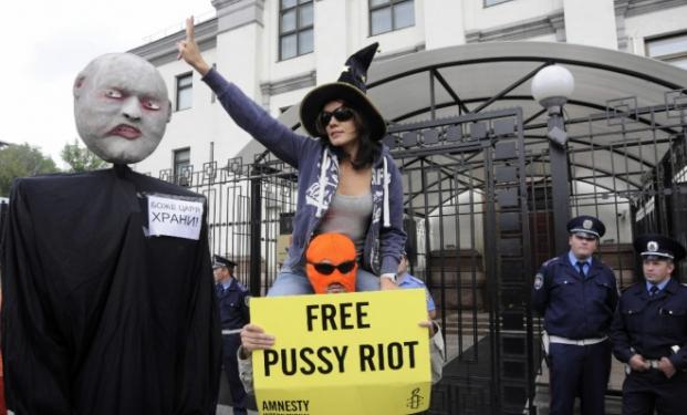 Attivisti in Russia