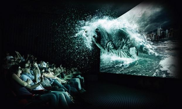 Cinema dalla tecnologia 4DX