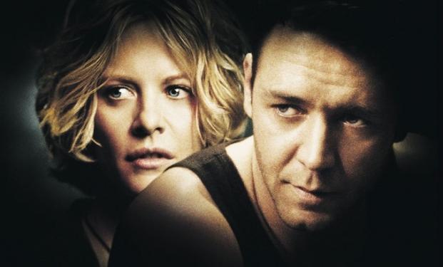 """Russell Crowe e Meg Ryan in """"Rapimento e riscatto"""""""
