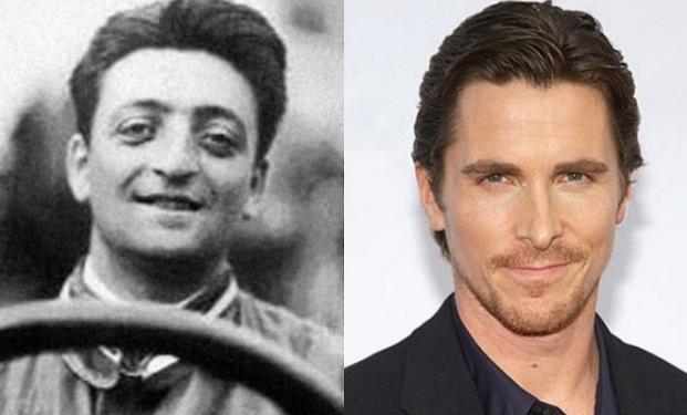 Enzo Ferrari / Christian Bale