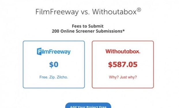 Filmfreeway e Withoutabox