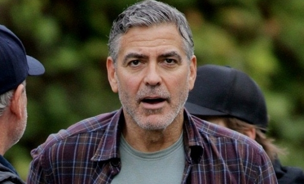 George Clooney sul set di Tomorrowland