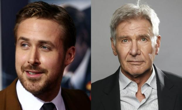 Ryan Gosling e Harrison Ford