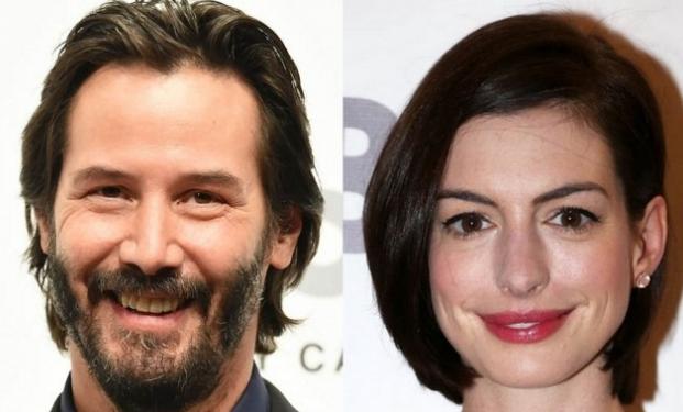 Keanu Reeves e Anne Hathaway