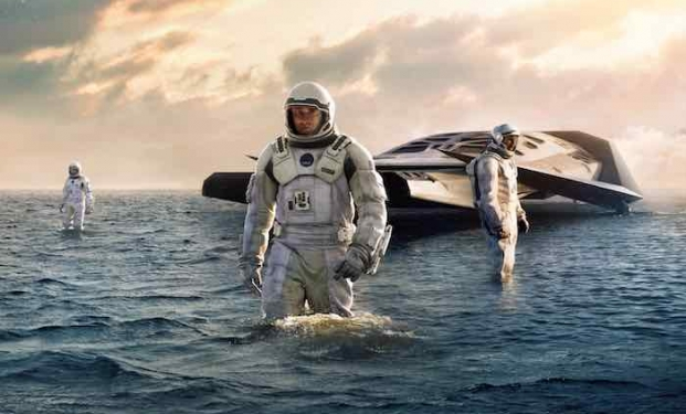 una scena di Interstellar