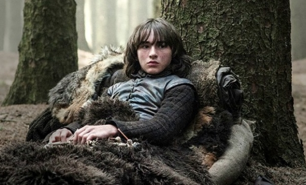 Isaac Hempstead Wright nel ruolo di Bran Stark in Game of Thrones - Il trono di spade