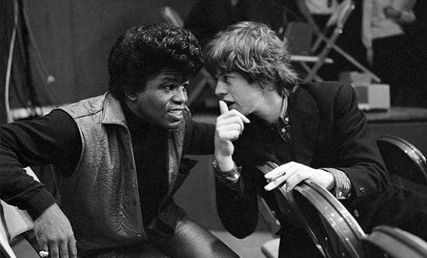 James Brown e Mick Jagger