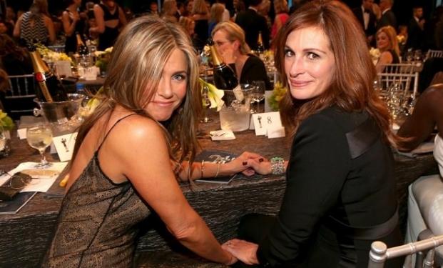 Jennifer Aniston e Julia Roberts