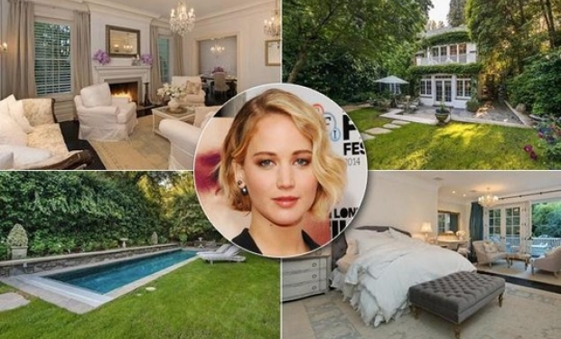 Jennifer Lawrence's mansion