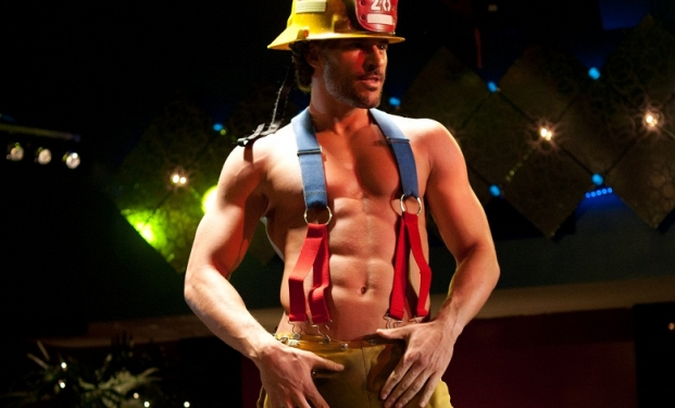 Joe Manganiello spogliarellista in Magic Mike