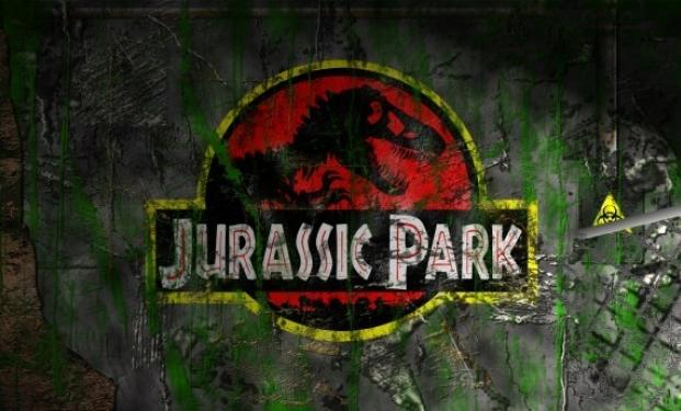 """Il poster di """"Jurassic Park"""""""