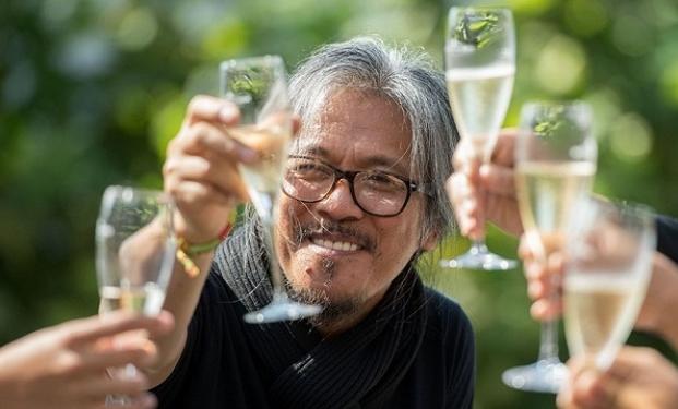 Lav Diaz, vincitore all'ultimo Festival di Locarno