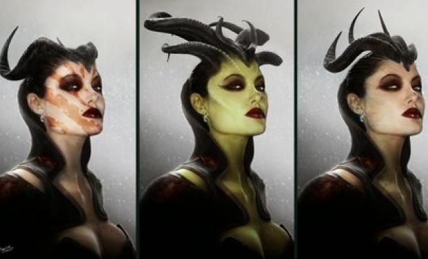 Concept art di Maleficent