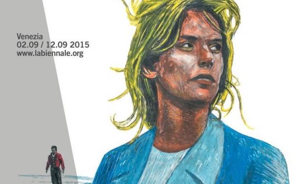 Il manifesto per l'edizione 2015 del Festival di Venezia