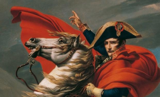 Napoleone che attraversa le Alpi di Jacques-Louis David
