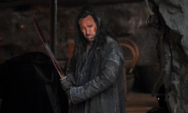 "Nicolas Cage in ""Outcast"""