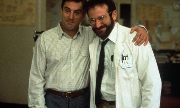 Robin Williams e Robert de Niro in Risvegli